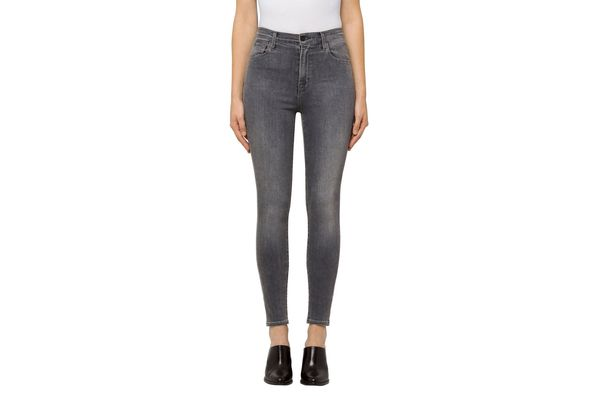 Carolina Super High-Rise Skinny in Earl Grey