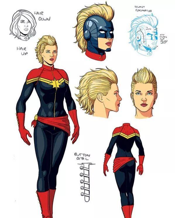 Carol Danvers Journey To Captain Marvel In Costumes Captain marvel (brie larson) is the superhero identity of carol danvers, a former u.s. carol danvers journey to captain