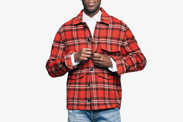 Todd Snyder Wool Plaid Cruiser Jacket