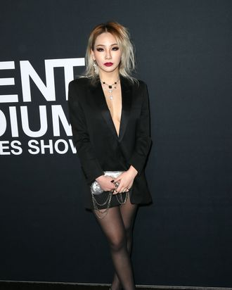No pants, no problem for CL.