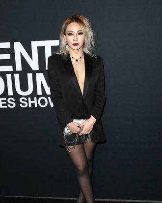 No pants, no problem for CL.