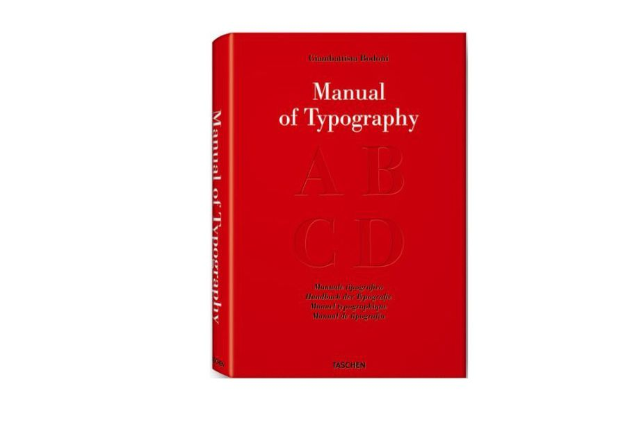 Bodoni: Manual of Typography by Stephen Füssel