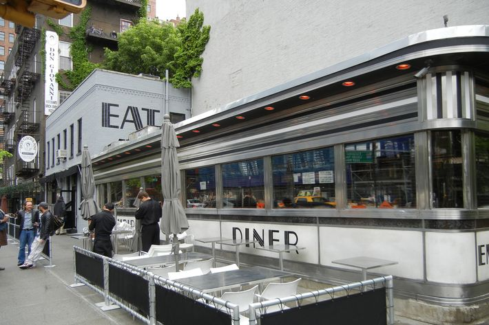 "The diner in 2011; owners call the reboot ""the hippest diner on earth."""