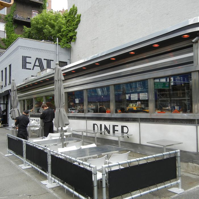 The diner in 2011; owners call the reboot