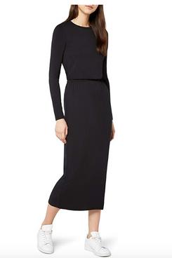 find. Women's Elastic Waist Jersey Maxi Dress