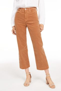 7 for All Mankind Alexa Cropped Corduroy Pants