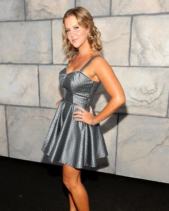 LOS ANGELES, CA - SEPTEMBER 10: Comedian Amy Schumer arrives at Comedy Central's Roast of Charlie Sheen held at Sony Studios on September 10, 2011 in Los Angeles, California. (Photo by Christopher Polk/Getty Images)