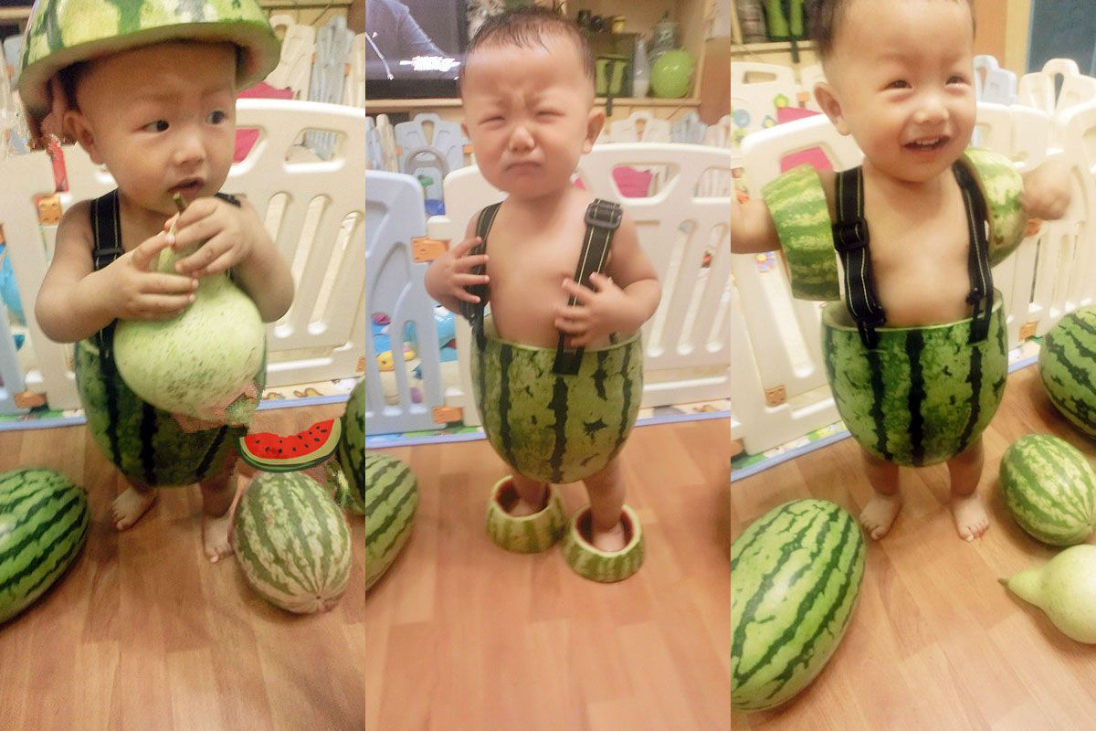Babies Wearing Watermelons As Overalls A Trend The Cut