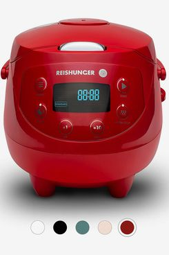 Reishunger Digital Mini Rice Cooker and Steamer