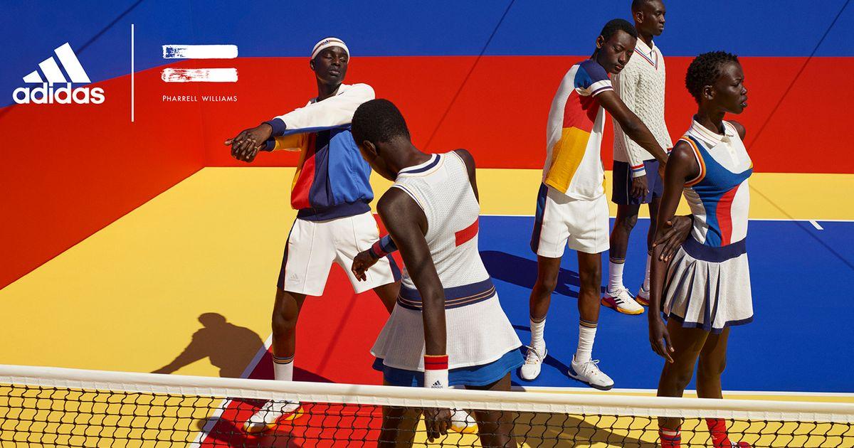 Pharrell Williams Releases Tennis
