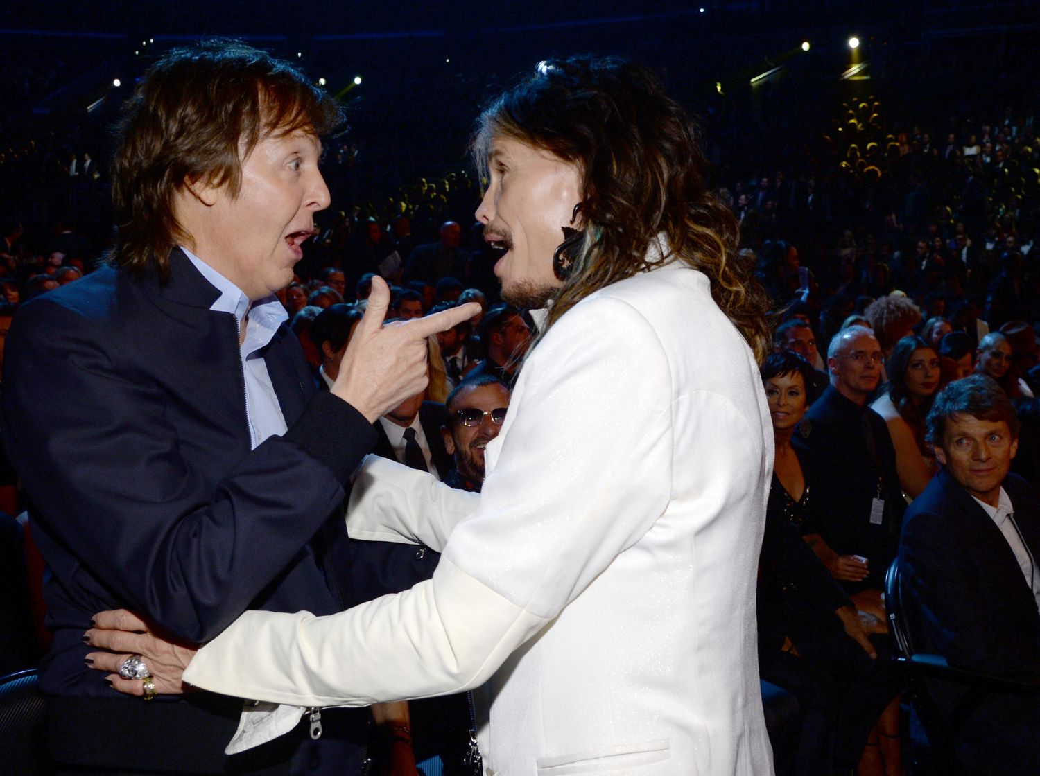Paul McCartney Can Act Happy To See Anyone Vulture