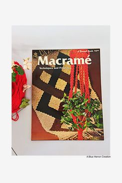 Sunset Book Macramé Techniques and Projects
