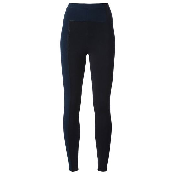 "Color-block leggings, <a href=""http://www.farfetch.com/shopping/women/alexander-wang-colour-block-leggings-item-10467222.aspx?storeid=9532"">$938.68</a>."