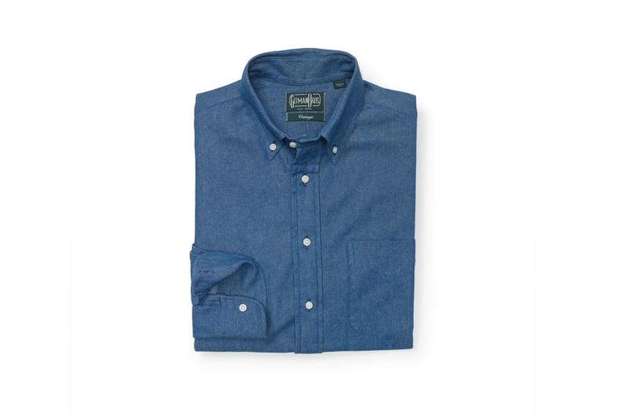 Gitman Men's Denim Shirt