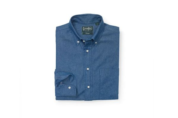 Gitman Men's Denim Shirt