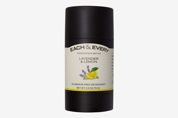 Each & Every All Natural Aluminum Free Deodorant