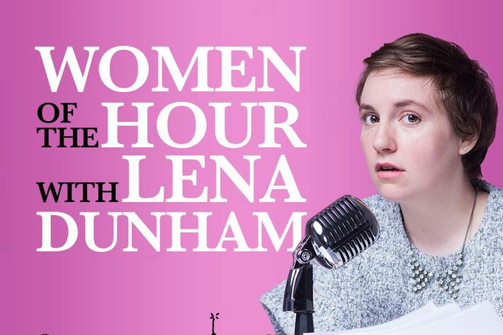 Lena Dunham the podcaster.