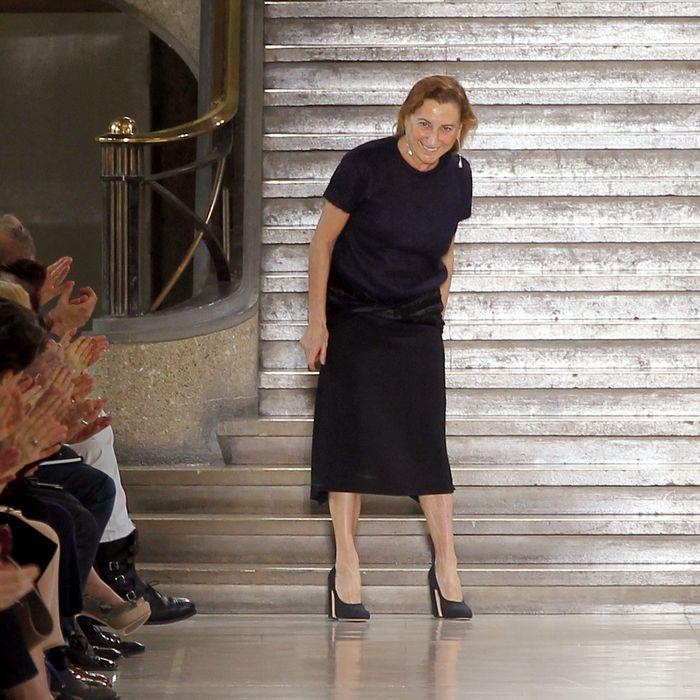 Miuccia Prada.