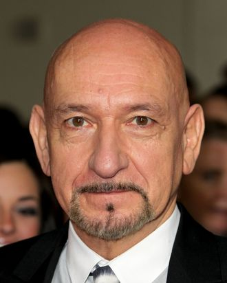 HOLLYWOOD, CA - JANUARY 28: Actor Sir Ben Kingsley arrives at the 64th Annual Directors Guild Of America Awards held at the Grand Ballroom at Hollywood & Highland on January 28, 2012 in Hollywood, California. (Photo by Frederick M. Brown/Getty Images)