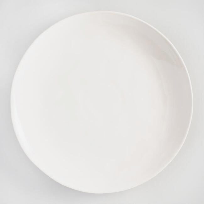 Ivory Element Dinner Plates, Set Of 4