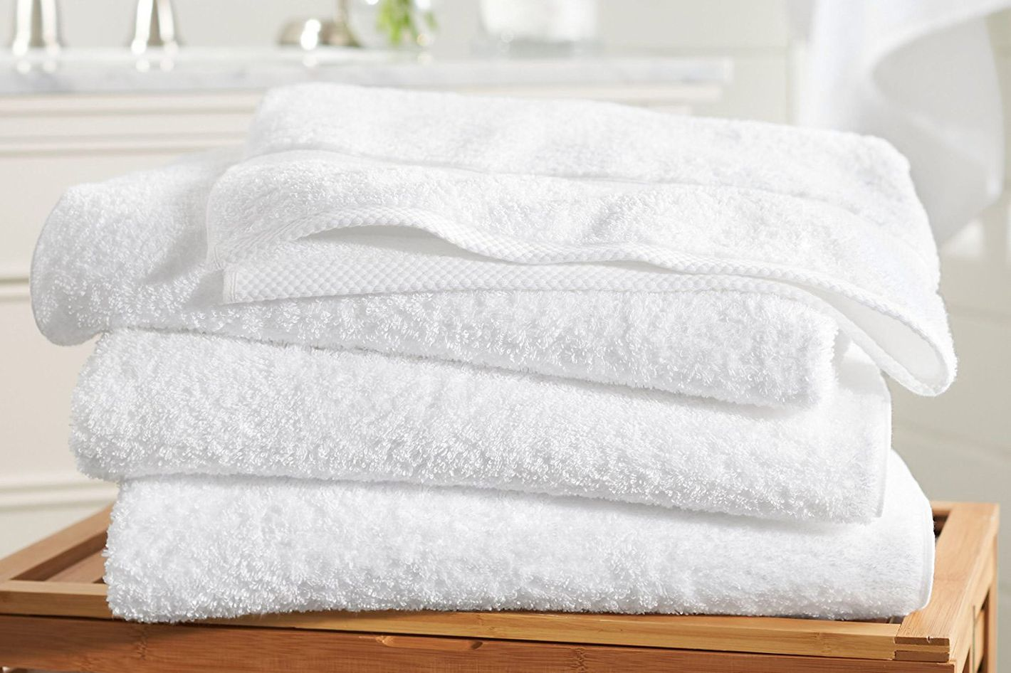 Pinzon Blended Egyptian Cotton 4 Bath Towel Set