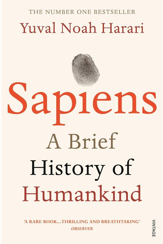 <em>Sapiens: A Brief History of Humankind</em> by Yuval Noah Harari