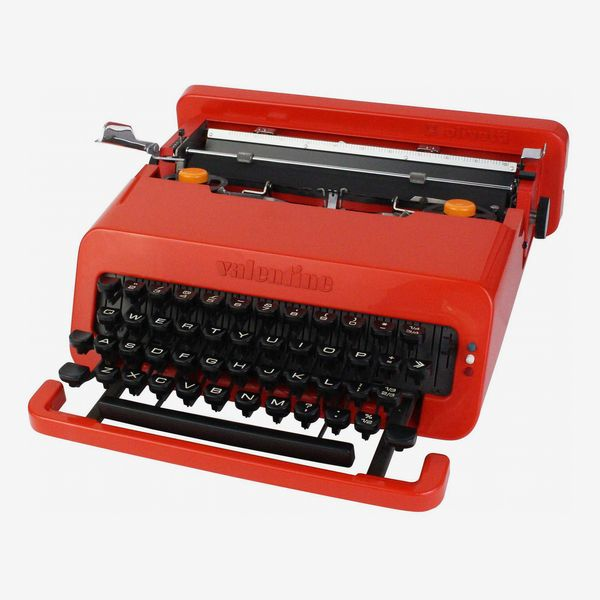 Olivetti Valentine Typewriter with Case