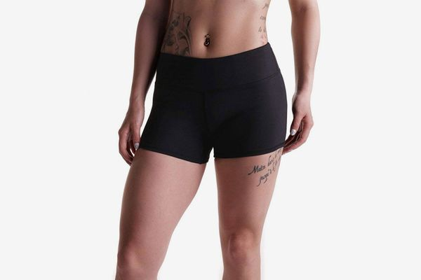 Tough Mode Womens 3-Inch Compression WOD Athletic Shorts