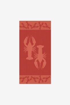 Apollo Towels Lobsters Sculpted Double Jacquard Towel
