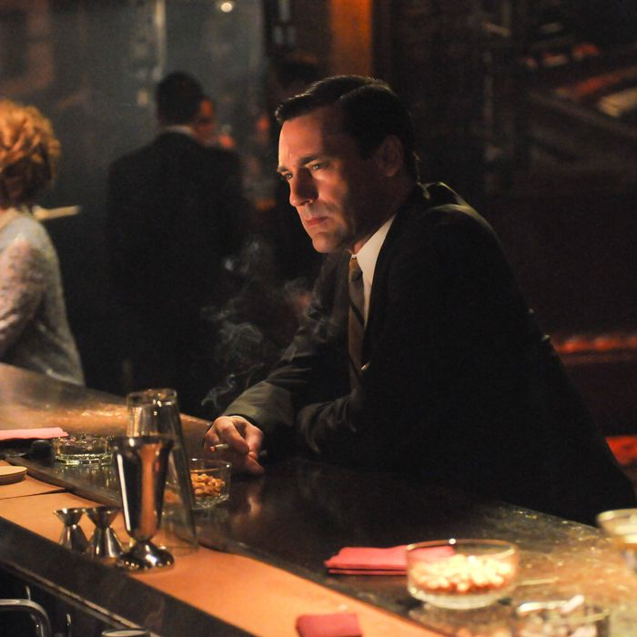 Don Draper (Jon Hamm) - Mad Men - Season 5, Episode 13.