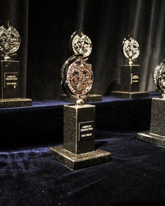 2014 Tony Awards - Backstage & Audience