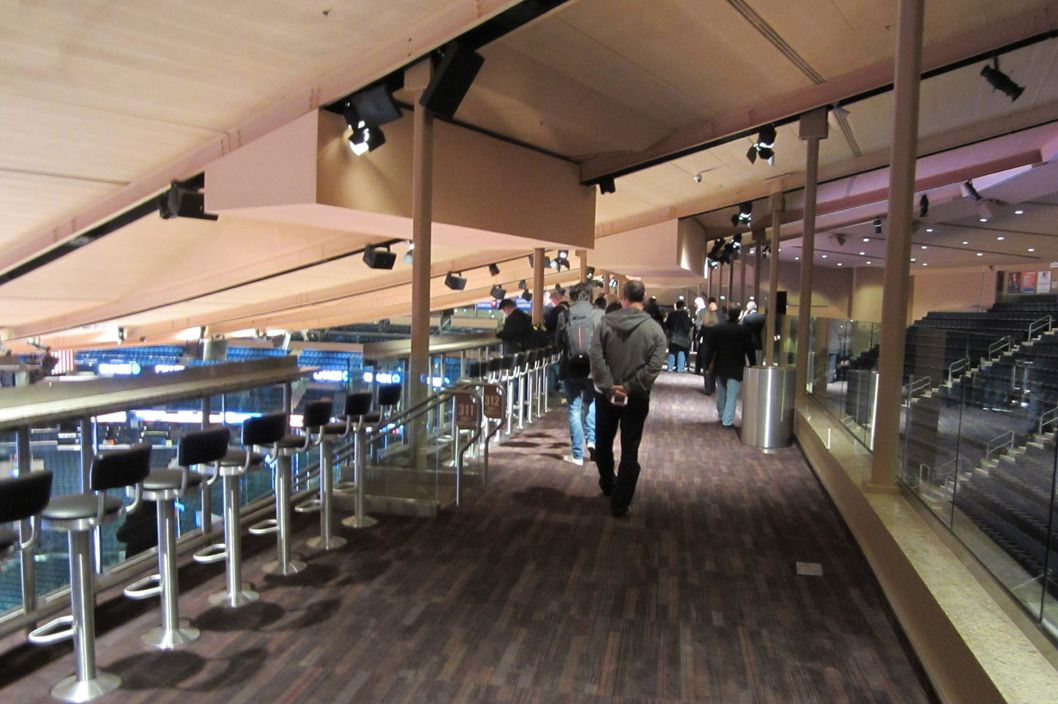Photos the renovated madison square garden nymag for Best bars near madison square garden