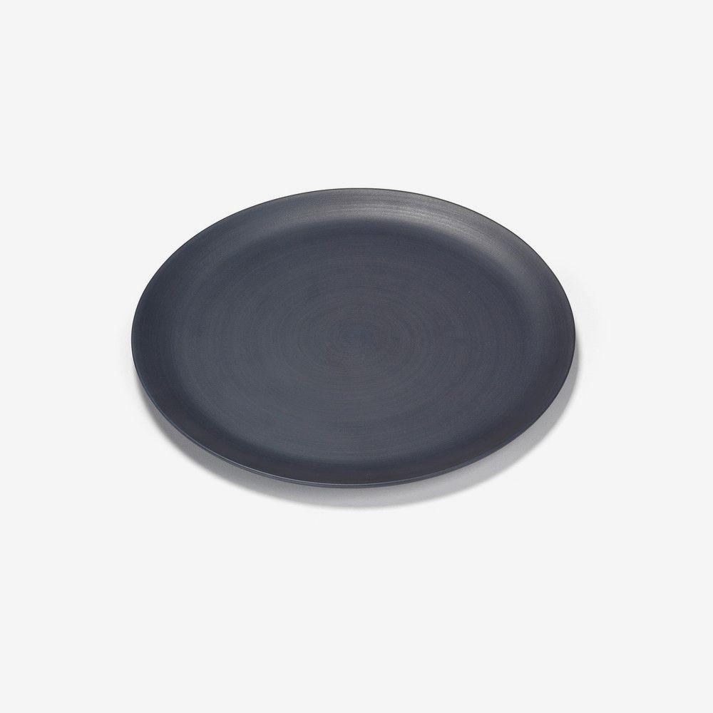Rina Menardi Ceramic Medium Plate in Midnight Blue