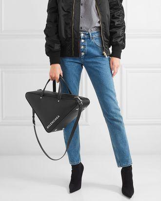 17fb160e885e Triangle Bags Like Balenciaga s to Give Your Outfit an Edge