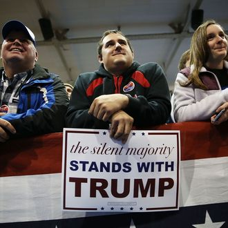 GOP Presidential Candidate Donald Trump Campaigns In Cedar Falls, Iowa