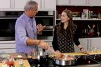 Watch Elizabeth Olsen Cook Wild Boar With Eric Ripert