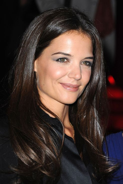Katie Holmes attends the Giorgio Armani Prive Haute Couture Fall/Winter 2011/2012 show as part of Paris Fashion Week at Palais de Chaillot on July 5, 2011 in Paris, France.