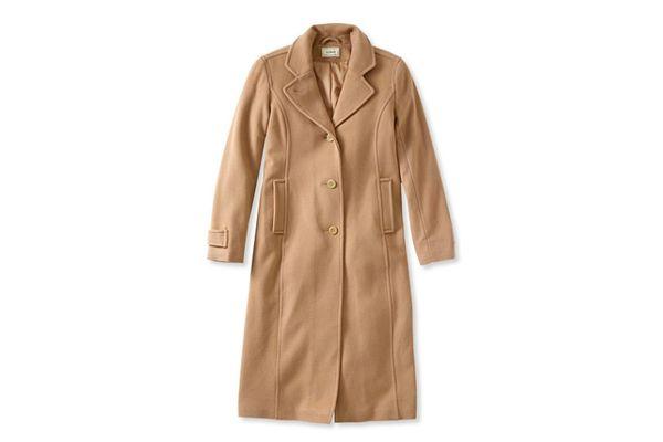 L.L. Bean Classic Lambswool Polo Coat