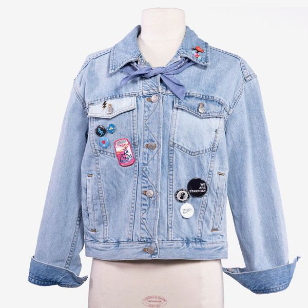 Madewell Denim Jacket Customized and Signed by Debby Ryan