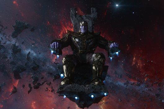 Marvel's Guardians Of The Galaxy  Thanos (voiced by Josh Brolin)  Ph: Film Frame  ?Marvel 2014