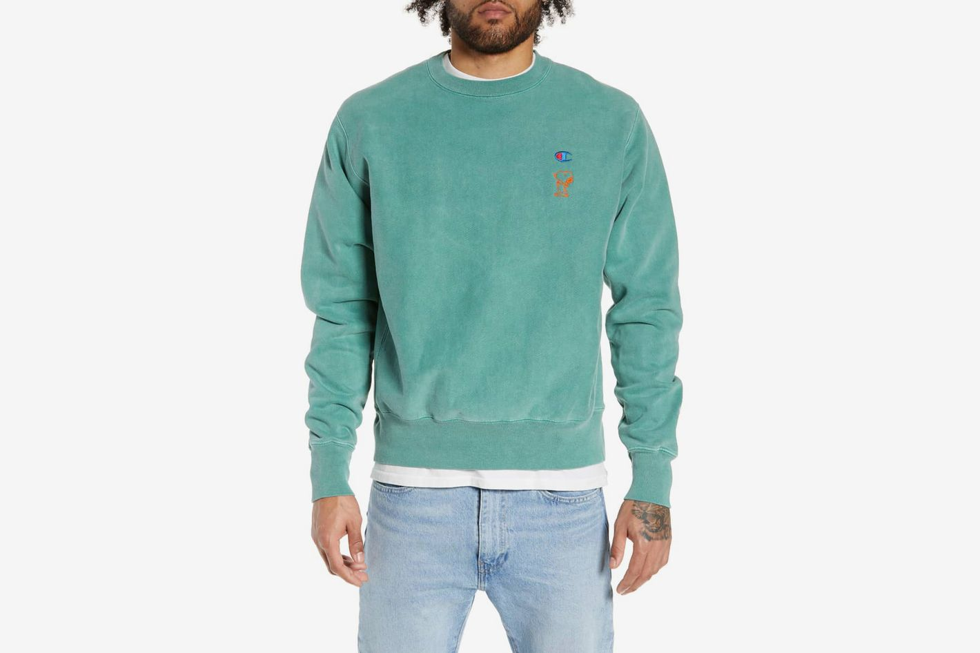 Champion Reverse Weave Snoopy Sweatshirt