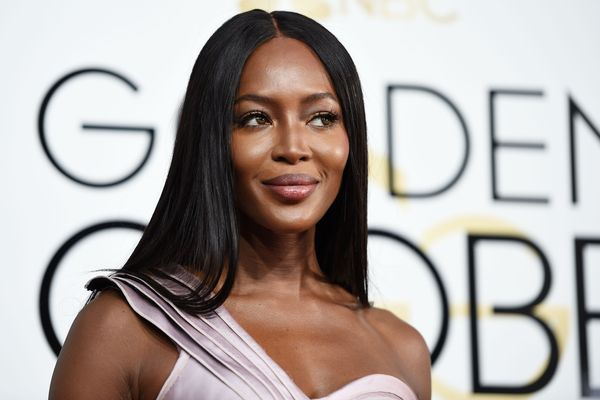 How to Get Naomi Campbell's Glowing Golden Globes Skin
