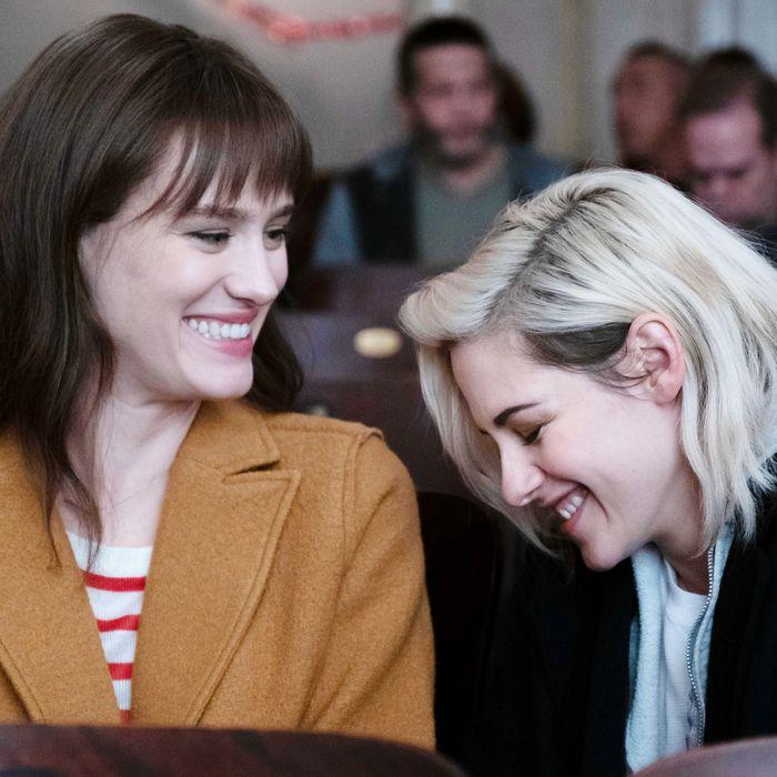 MacKenzie Davis and Kristen Stewart.