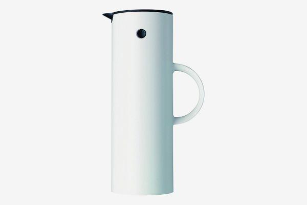 Stelton EM77 Vacuum Jug, 33.8 oz, white