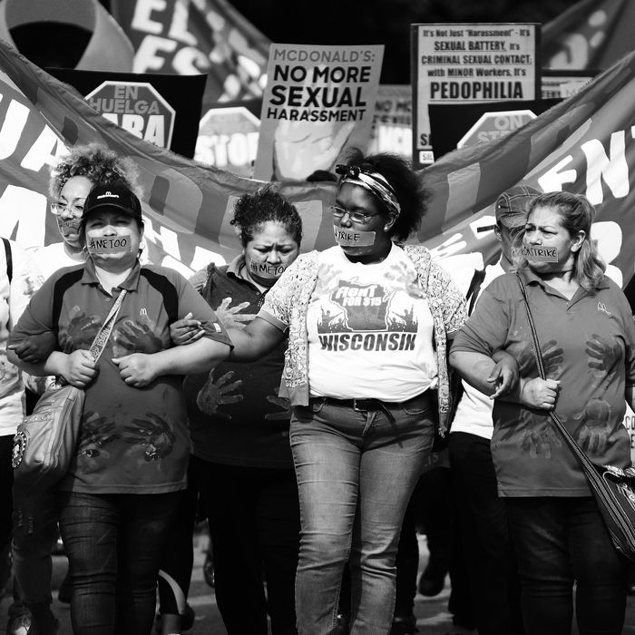 In September 2018, McDonald's workers across the country went on strike over the company's alleged sexual-harassment problem — the first-ever nationwide strike of its kind.