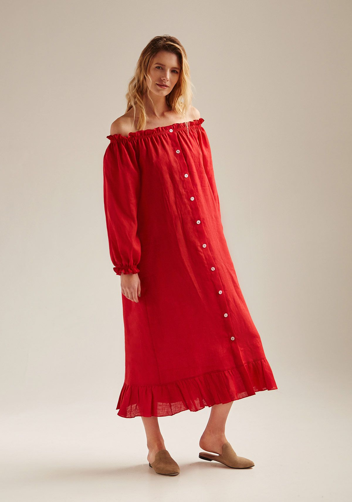 Sleeper Linen Dress