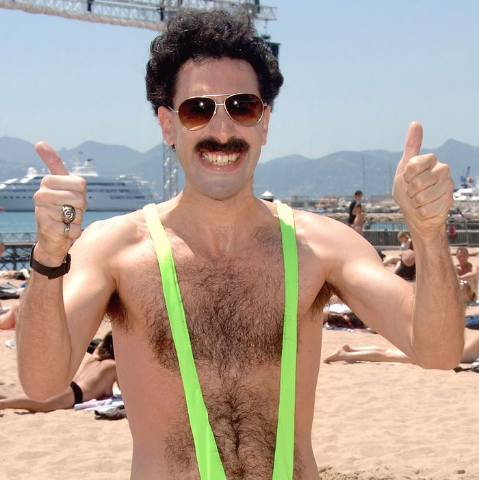 4c14d49dbe Tourists Arrested for Wearing Borat Mankinis in Kazakhstan