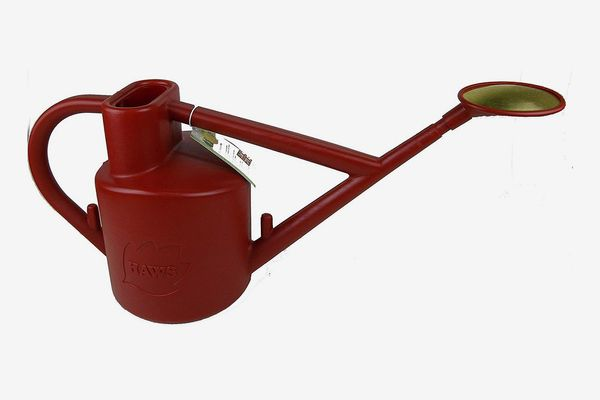 Haws Plastic Watering Can, 1.6-Gallon/6-Liter, Red