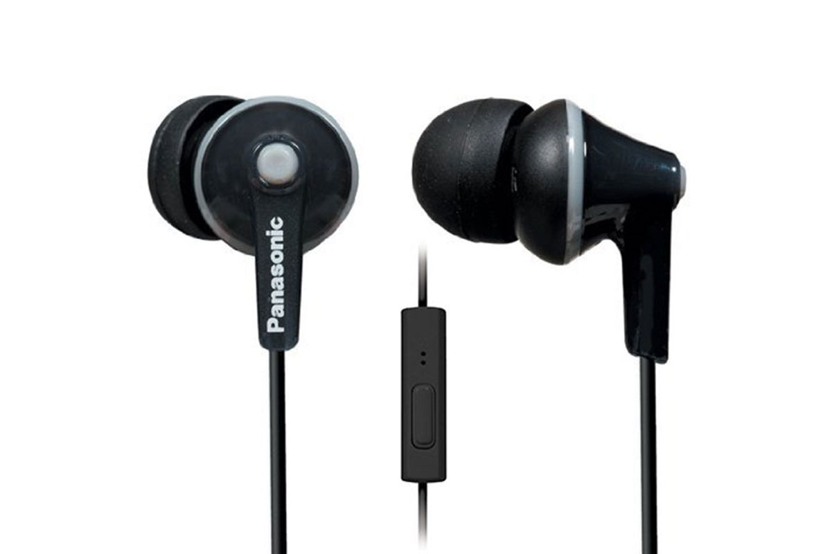 panasonic ergofit in-ear earbuds- strategist best travel accessories and best travel headphones