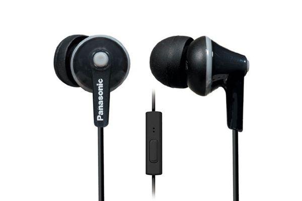 panasonic ergofit in-ear earbuds- strategist best travel accessories and best travel headphones